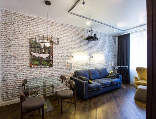 Кирпичная кладка в интерьере — декоративная отделка стены квартиры или дома