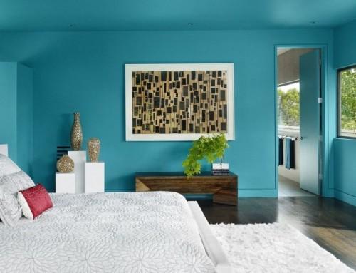 Интерьер в бирюзовых тонах — лучшие примеры сочетаний цветов