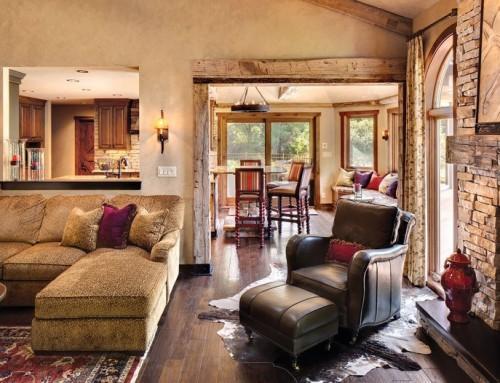 Дизайн дома в деревенском стиле своими руками — простые, но интересные идеи