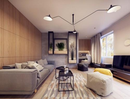 Интерьер зала для квартир и частных домов — современные решения для большой комнаты