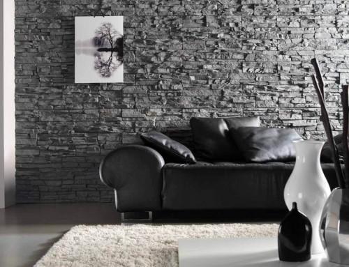 Искусственный камень в интерьерах — современный дизайн квартиры и дома