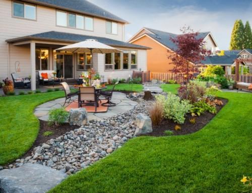 Дизайн двора в частном доме — идеи интерьера двориков, которые стоит увидеть