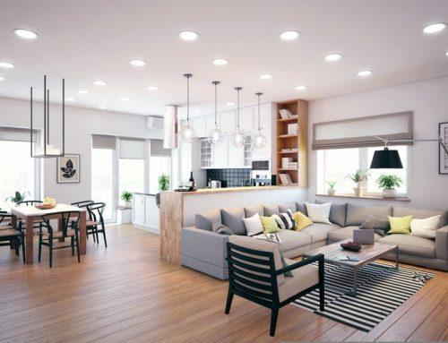 Интерьер кухни гостиной — дизайн современных проектов в разных стилях