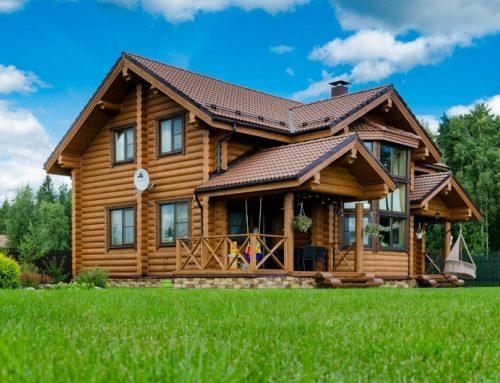 Дизайн деревянного дома — современный интерьер внутри загородных домов