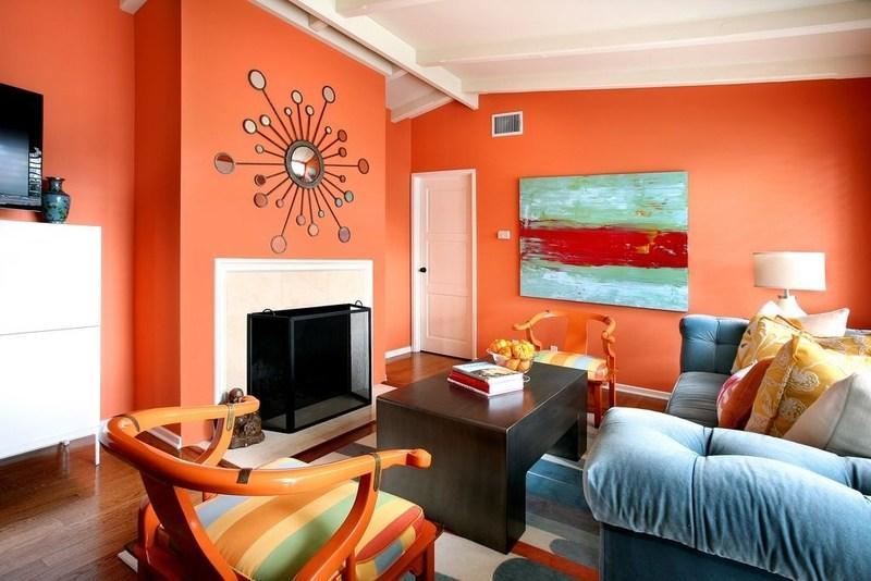 Как цвет влияет на ваше настроение – оранжевый