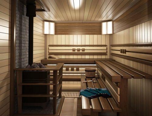 Дизайн интерьера сауны и бани в русском стиле своими руками