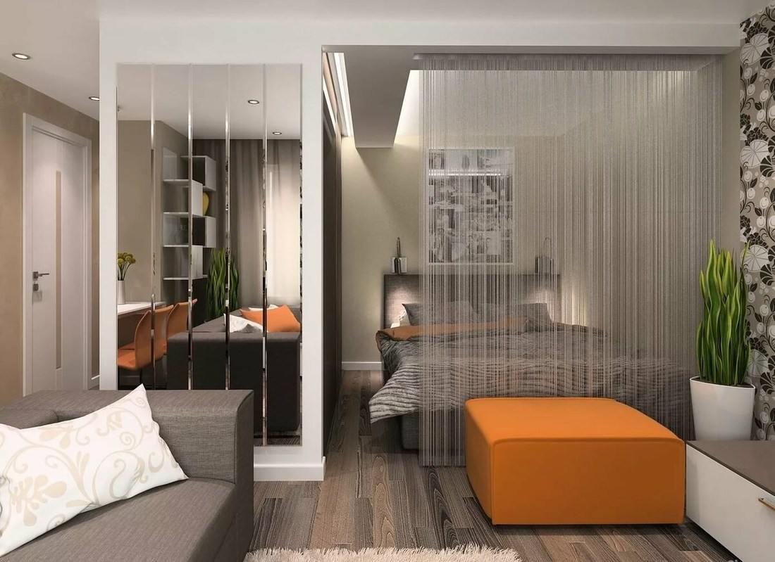 Как отделить спальню от гостиной