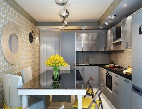 Интерьер кухни 9 м2 — различные идеи оформления