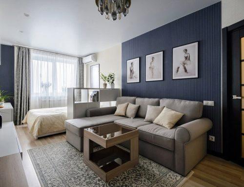 Интерьер однокомнатной квартиры 40 м2 — советы, которые решат ваши проблемы