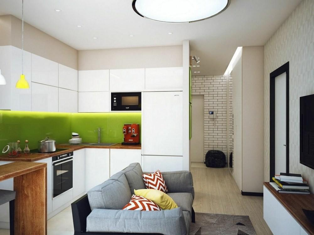Дизайн с диваном