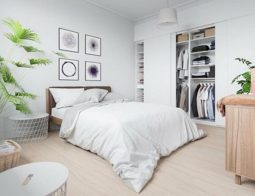 Интерьер спальни в светлых тонах — 50 современных идей