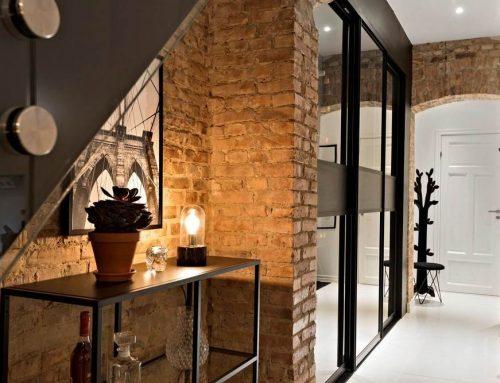 Дизайн прихожей в стиле лофт — подборка самых красивых интерьеров в современном стиле (50 фото)