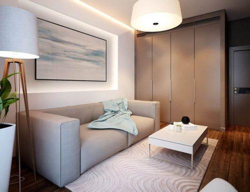Интерьер гостиной в панельном доме — 60 современных идей, которых вы не видели