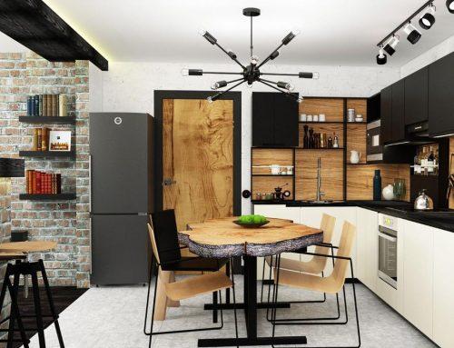 Интерьер маленькой кухни — 78 идей для комнат небольшого размера