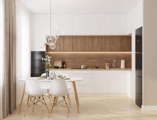 Белая кухня в интерьере — 78 современных идей