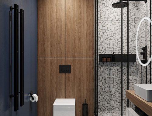 Дизайн маленькой ванной комнаты — большая фото-подборка современных интерьеров