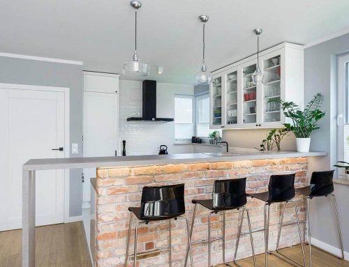 Дизайн кухни с барной стойкой — 72 фото и идеи для квартиры и частного дома