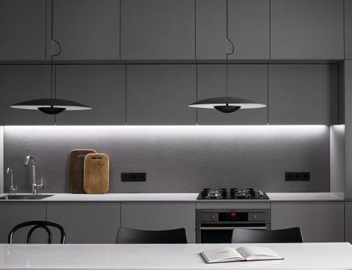 Дизайн кухни в серых тонах — 111 фото современных гарнитуров
