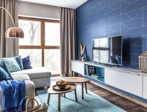 Сочетание синего цвета с другими цветами в интерьере квартиры и частного дома — 100 фото