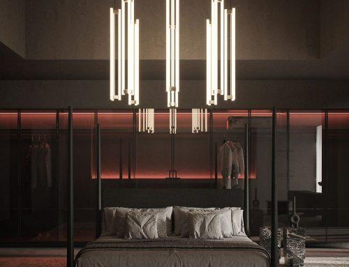 Правильное освещение в спальне — 111 фото