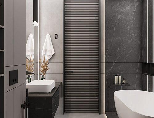 Ванная комната в стиле лофт — 98 фото
