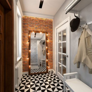 Лофт в маленькой комнате