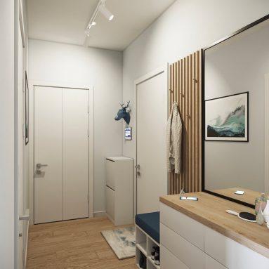 интерьер маленького в квартире