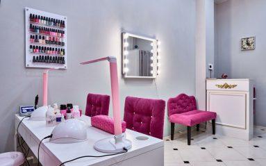 интерьер для салона красоты