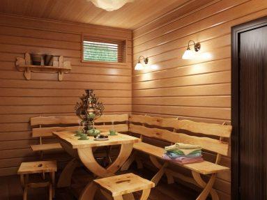 Идеи для комнаты отдыха в бане