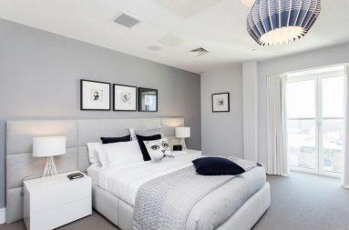 белый цвет в спальне фото 2020