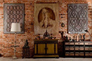 Интерьер квартиры лофт – декор и аксессуары