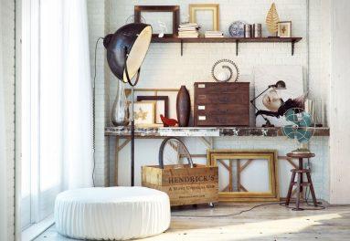 Декор и аксессуары в стиле лофт