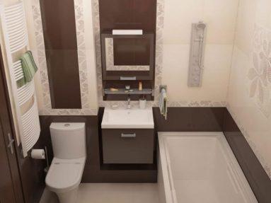 Ванная с туалетом в хрущевке