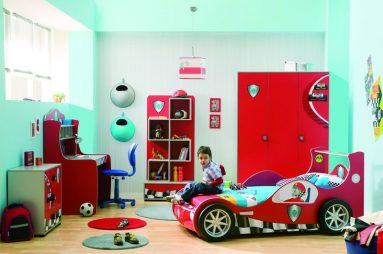 Комната для мальчика, которому нравятся машины