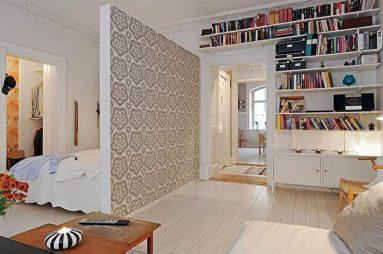 совмещённая спальня