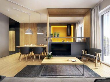 маленькая кухня модерн