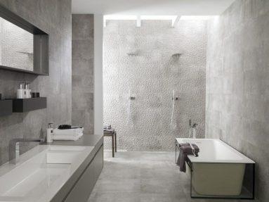 Бетон в ванной комнате