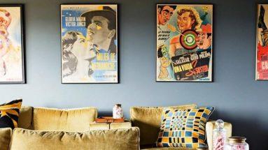 Красивые картины в гостиной