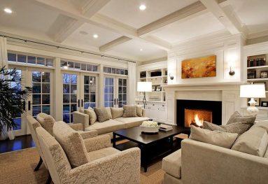 Дизайн интерьера в частном доме - фото