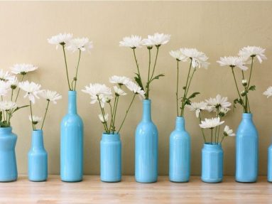 Фото стеклянной вазы