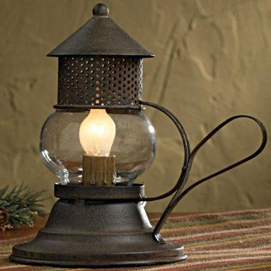 Деревенская лампа