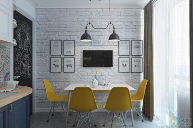 Галерейная стена над столом