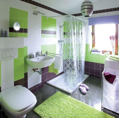 Дизайн яркого помещения