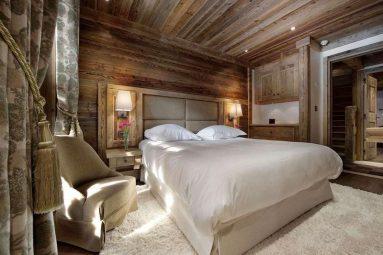 Фото спальни из дерева