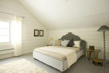 Декоративная вагона в спальне