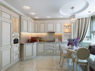 Кухня в классическом