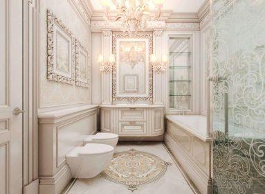 Классический в ванной