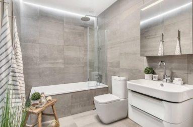 Простая комната в стиле модерн