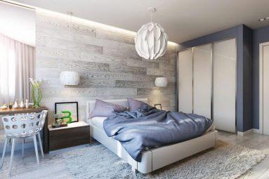 Дизайн комнаты со светлой мебелью