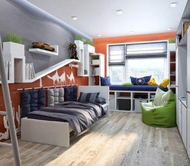 Идея подростковой комнаты